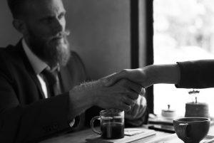pro bono client handshake agreement