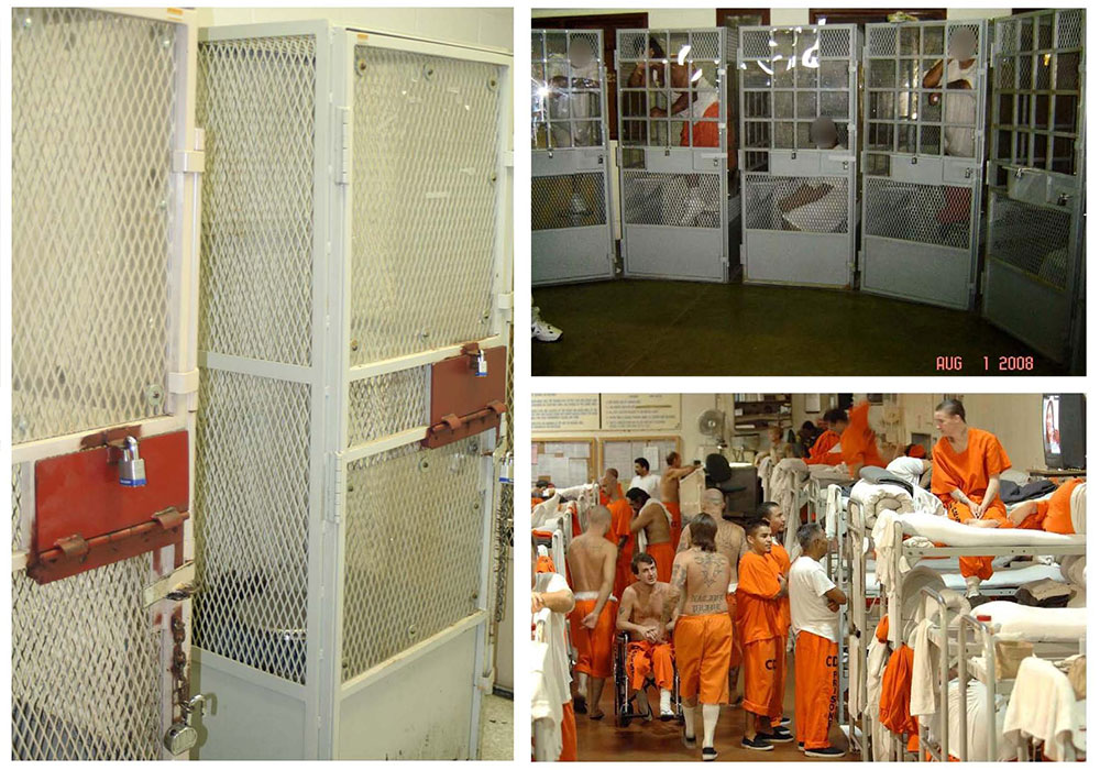 overcrowding prisons The federal inmate population has grown by more than 50 percent in the last fifteen years, and the department of justice's (doj) bureau of prisons (bop) reports an.