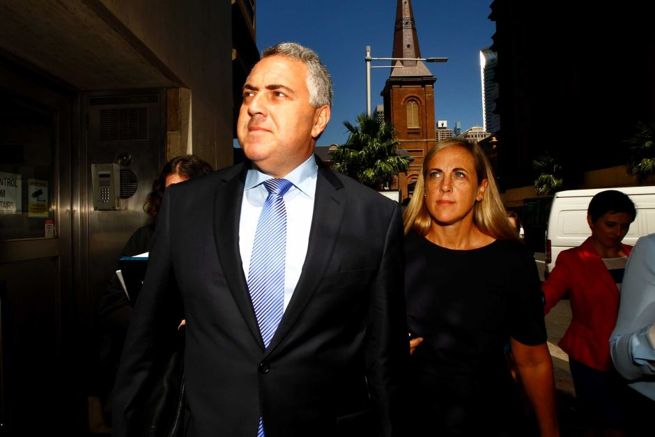 Defamation lawsuit by Joe Hockey