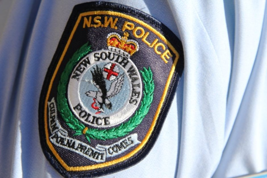 NSW-Police officer patch