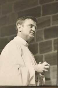 Catholic priest Father John Walsh in 1996
