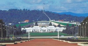 Australian Federal Government parliament house