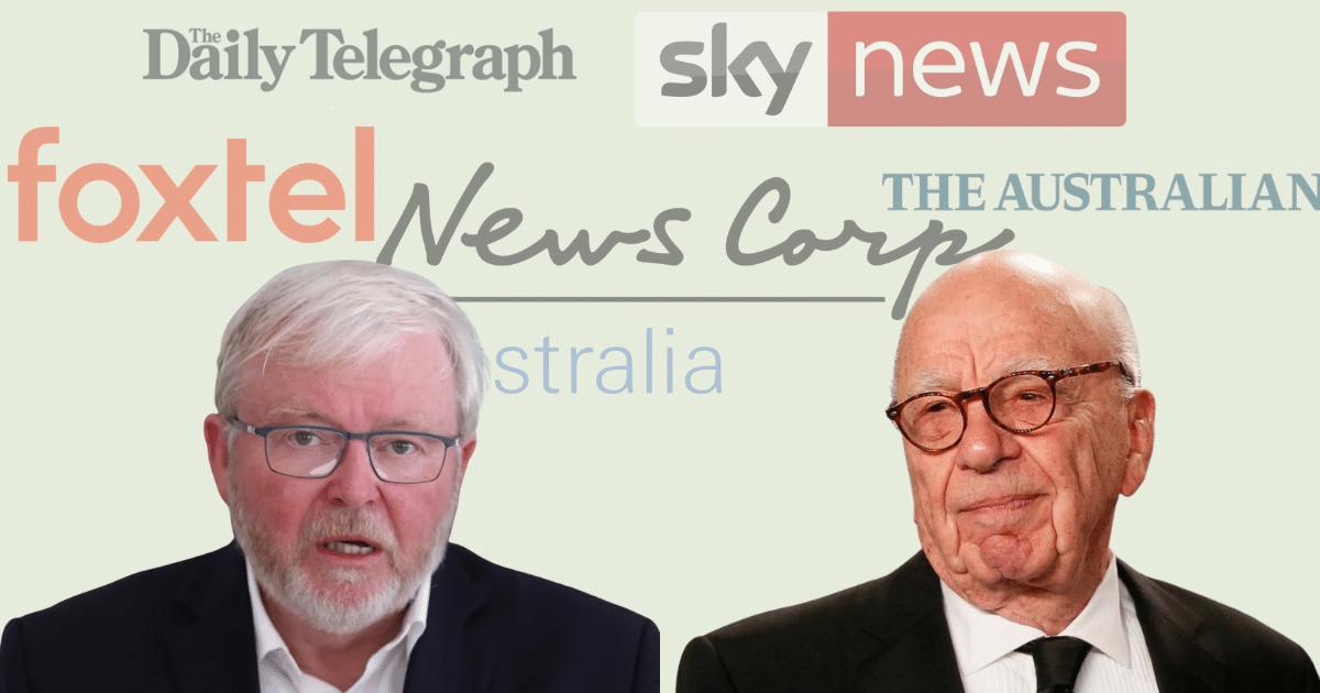 Murdoch Royal Commission Kevin Rudd