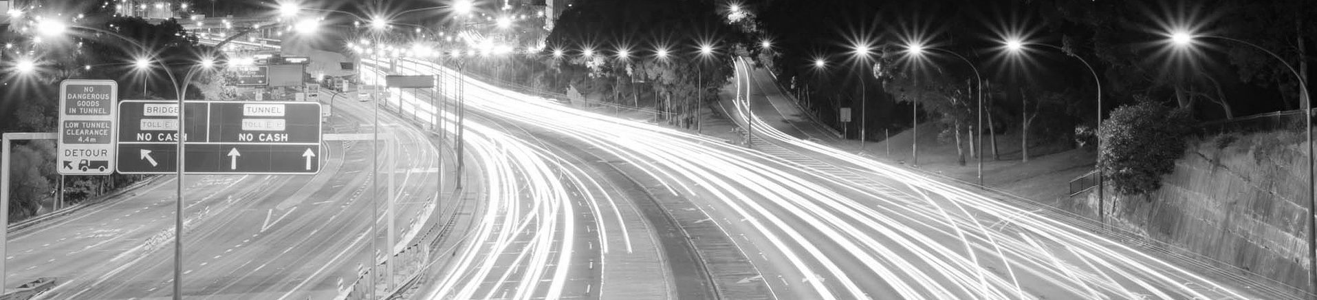 Sydney road where our driving offence case studies can occur
