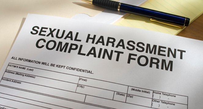 sexual harassment claim form