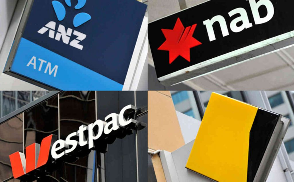 Bank logos of ANZ, NAB, Westpac and CBA: possible criminal charges