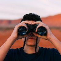 binoculars spy espionage surveillance