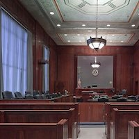 courtroom jury bench judge seats