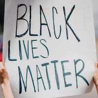 Black Lives Matter protest demonstration rally