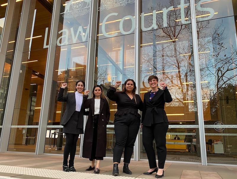 Legal Team Black Lives Matter Protest Victory