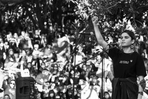Taylah Gray BLM Aboriginal-Deaths Custody Protester