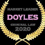 Criminal Lawyer - Doyles Market Leader - 2020