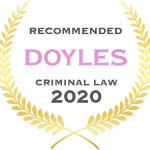 Criminal Lawyer - Doyles Recommended - 2020