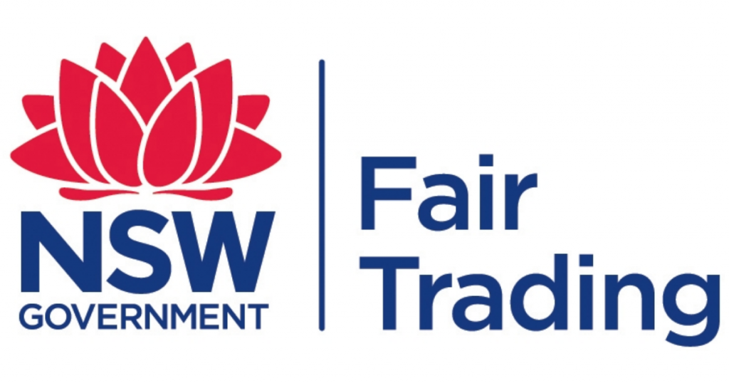 Fair Trading NSW logo
