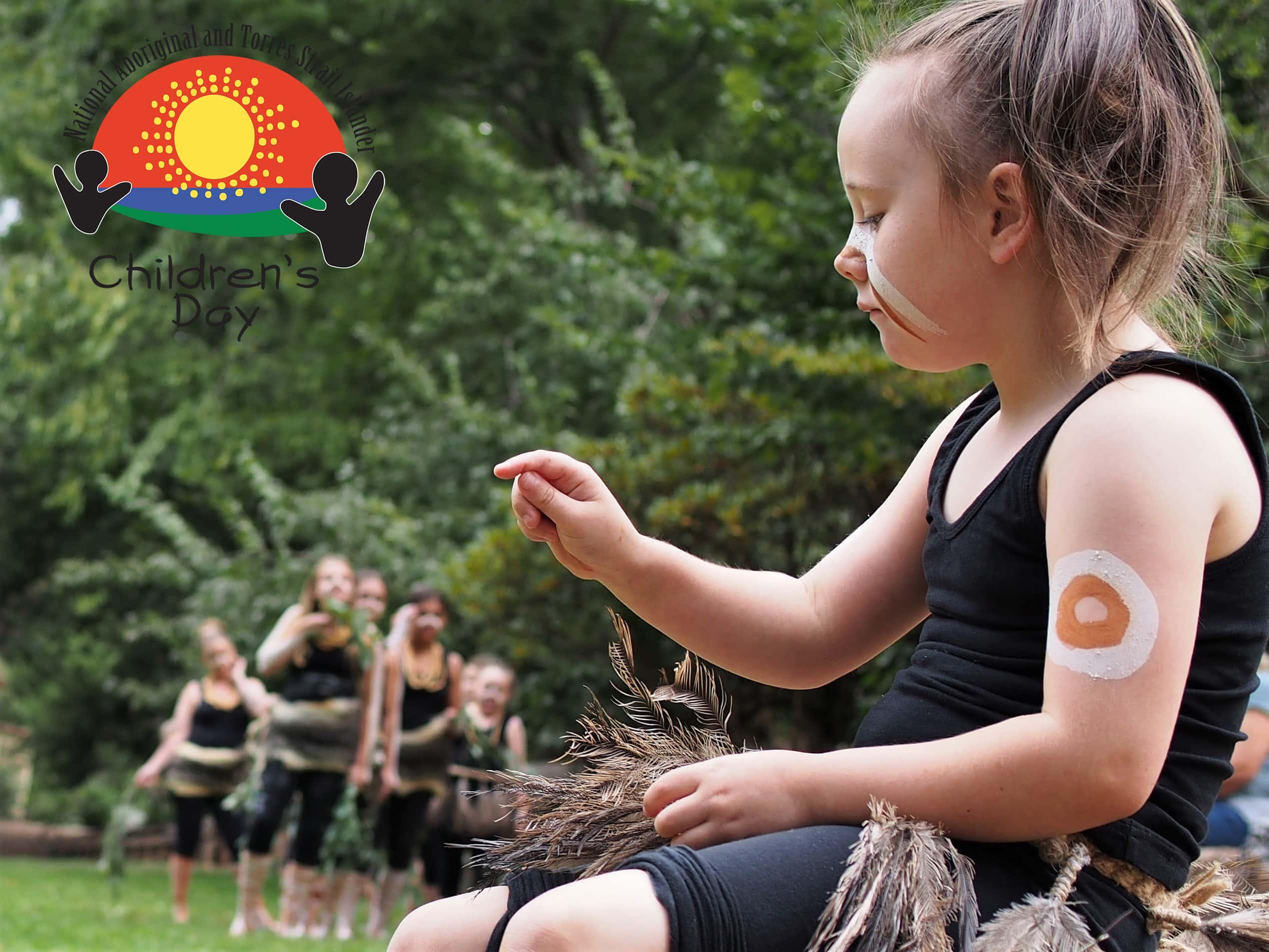 indigenous Australian child
