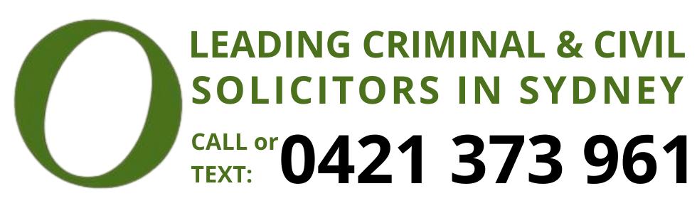 leading criminal civil solicitors sydney