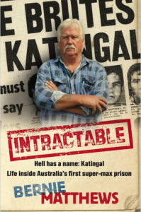 Bernie Matthews Intractable book
