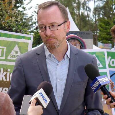Greens MP David Shoebridge