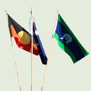 Aboriginal and Torres Strait Islander Flags are national flags of Australia
