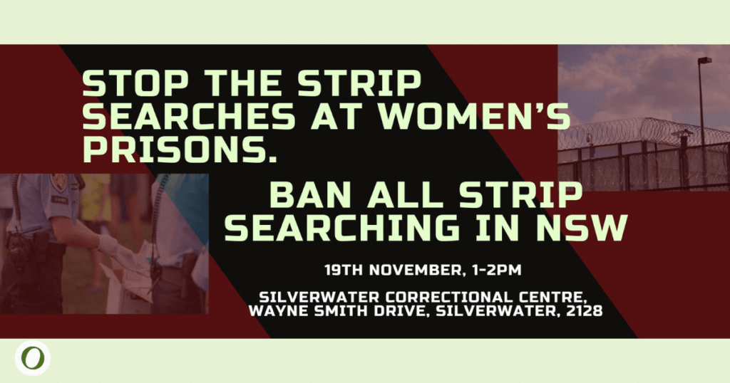 Stop strip searches womens prisons