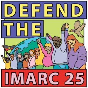 Defend the International Mining and Resources Conference IMARC 25