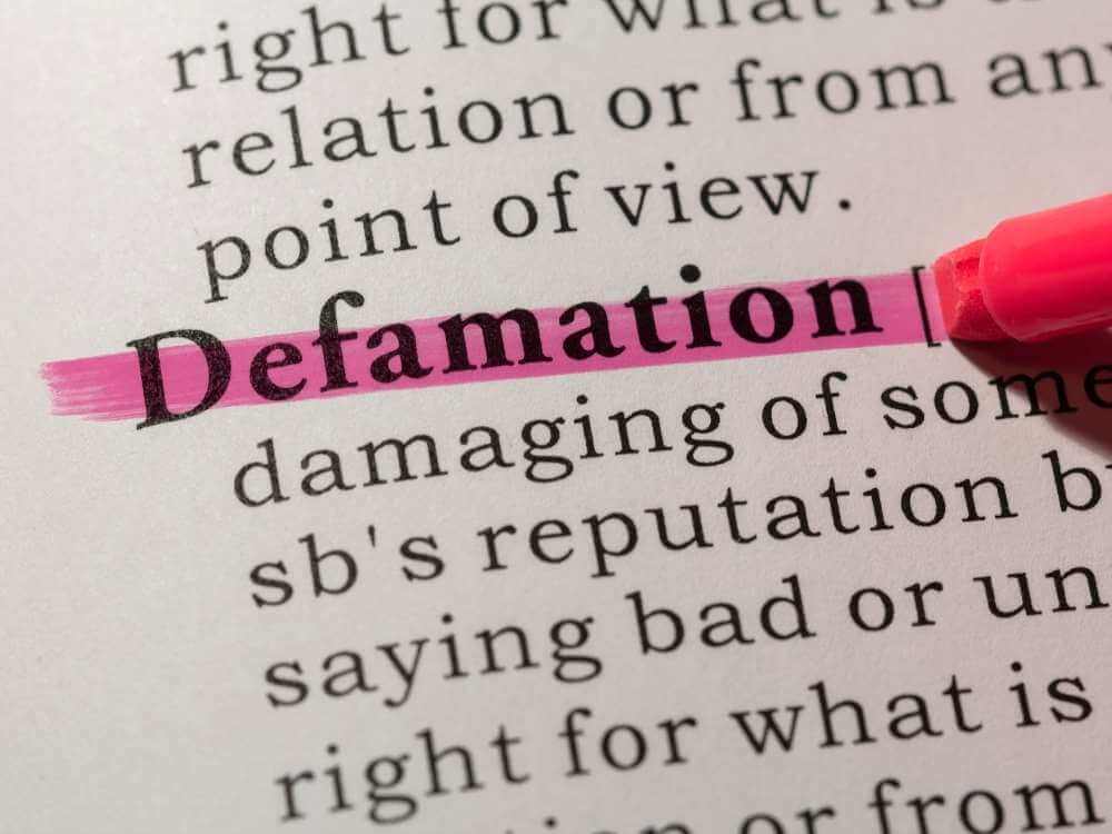 Is defamation a crime in NSW?