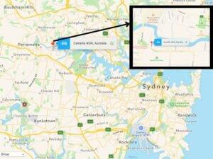 proposed prison in Camellia, parramatta, in Sydney's western suburbs