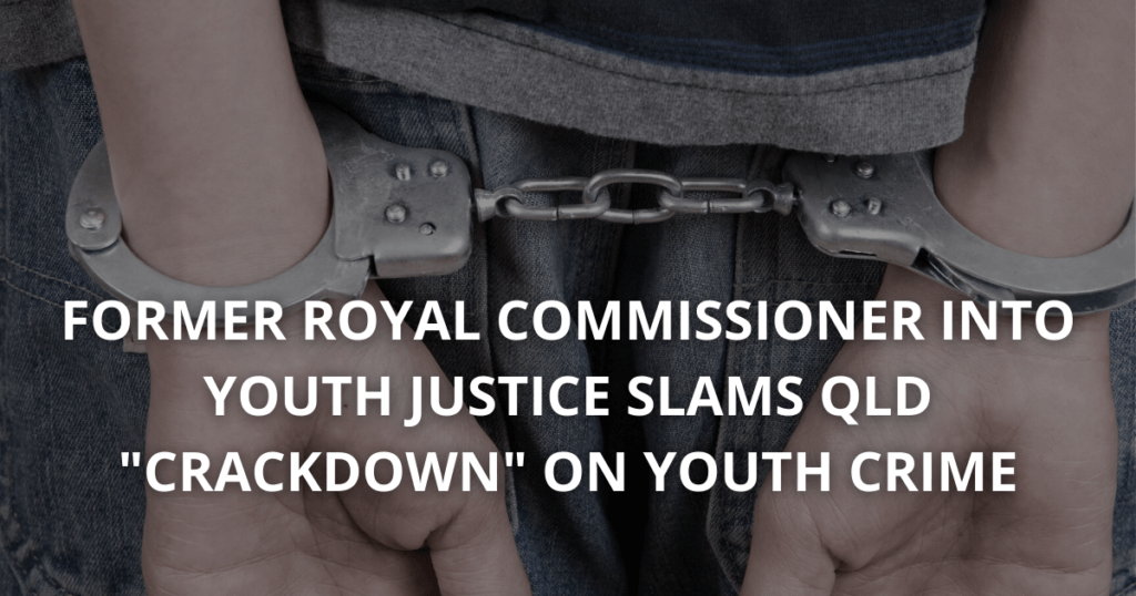 New QLD Laws to crackdown on youth crime
