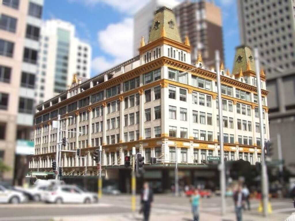 Downing Centre courts in Sydney CBD