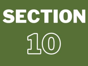 What is a Section 10?