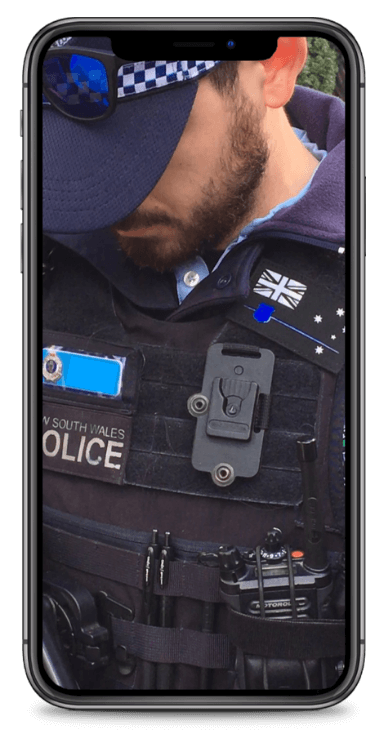 NSW Police Thin Blue Line patch