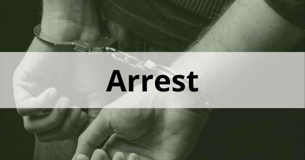ARREST NSW Police FACTSHEET