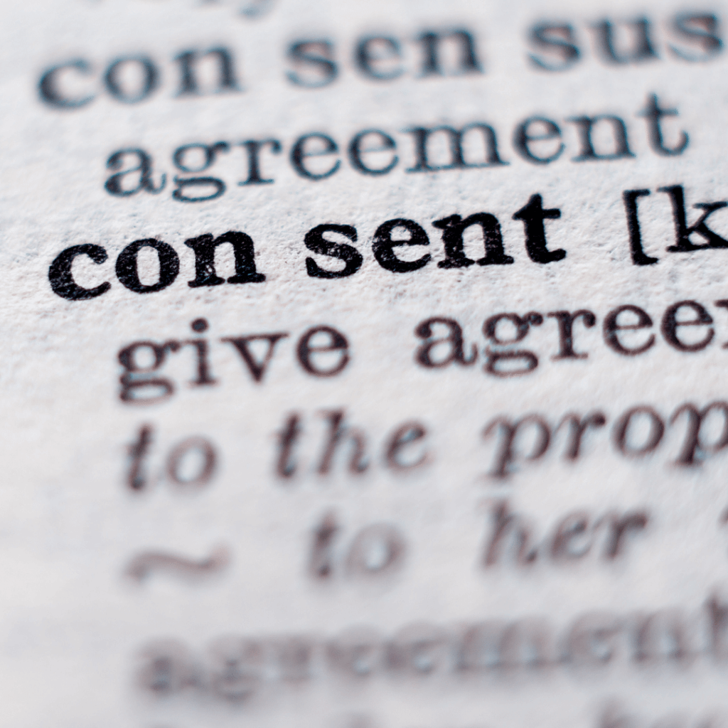 consent definition