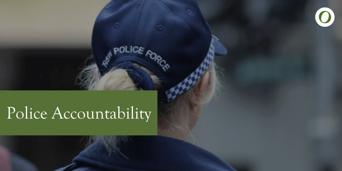 Police Accountability - Suing the Police Lawyers, Sydney