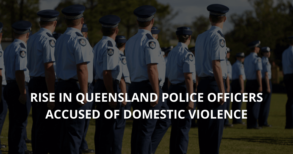 Rise in Queensland police officers accused of domestic violence