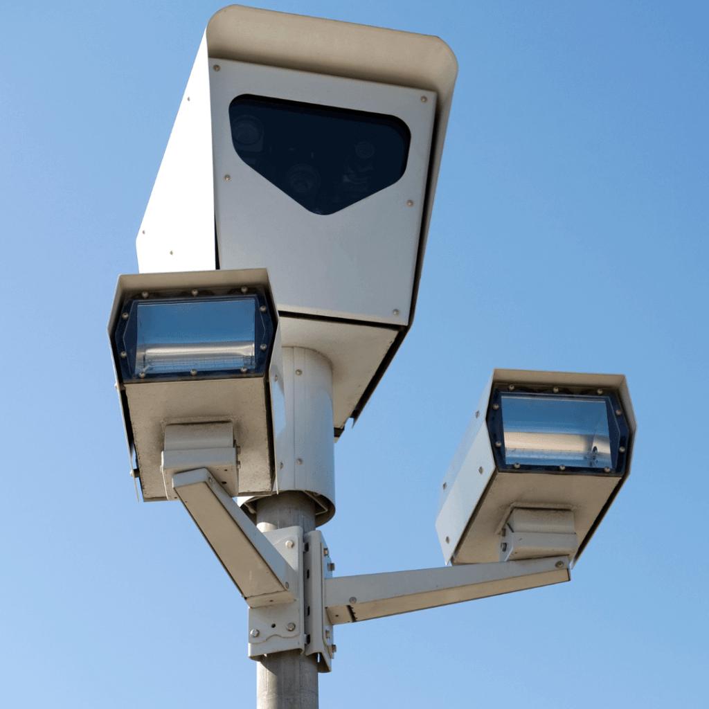 red light speed camera