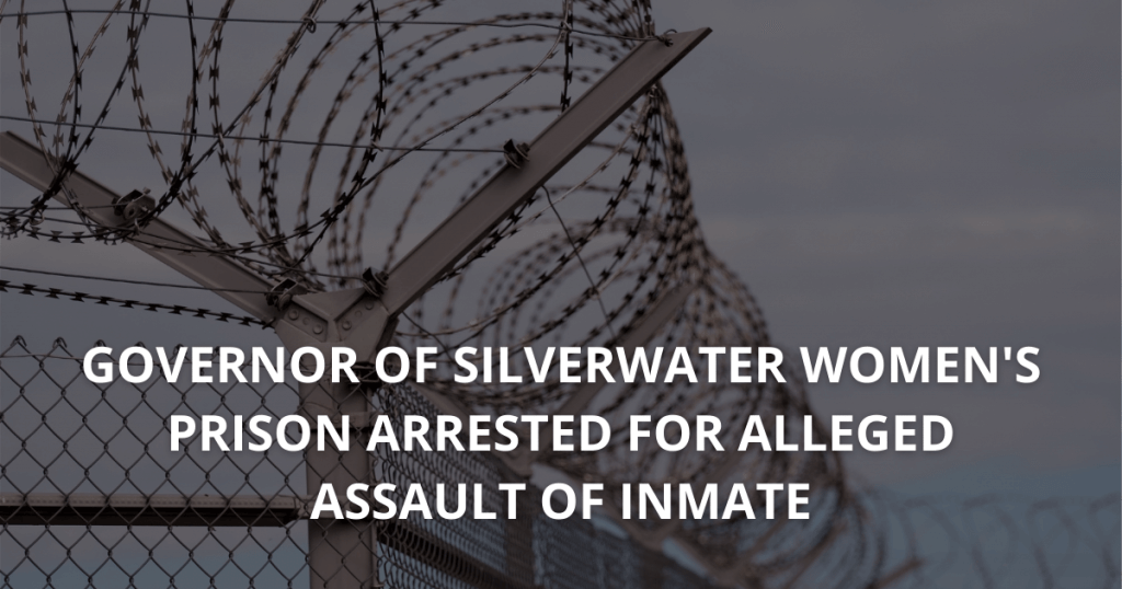 Governor of Silverwater women's prison arrested for alleged assault of inmate