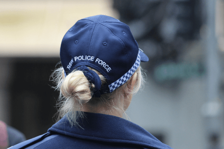 NSW Police Force officer