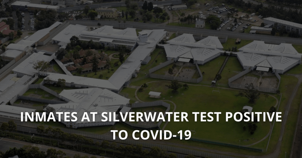Inmates at Silverwater test positive to COVID-19