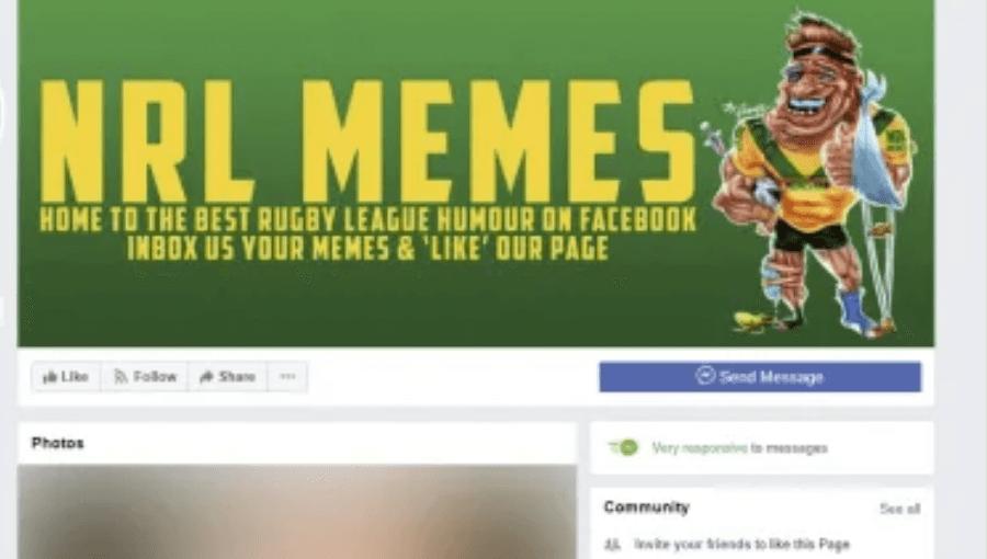 NRL Memes page sued for Facebook defamation