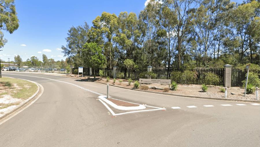 Parklea Correctional Centre, near Blacktown in Sydney's Western Suburbs
