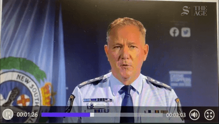 NSW Police Commissioner Mick Fuller told officers that he wouldn't hold them to account if they wrongly issued fines.