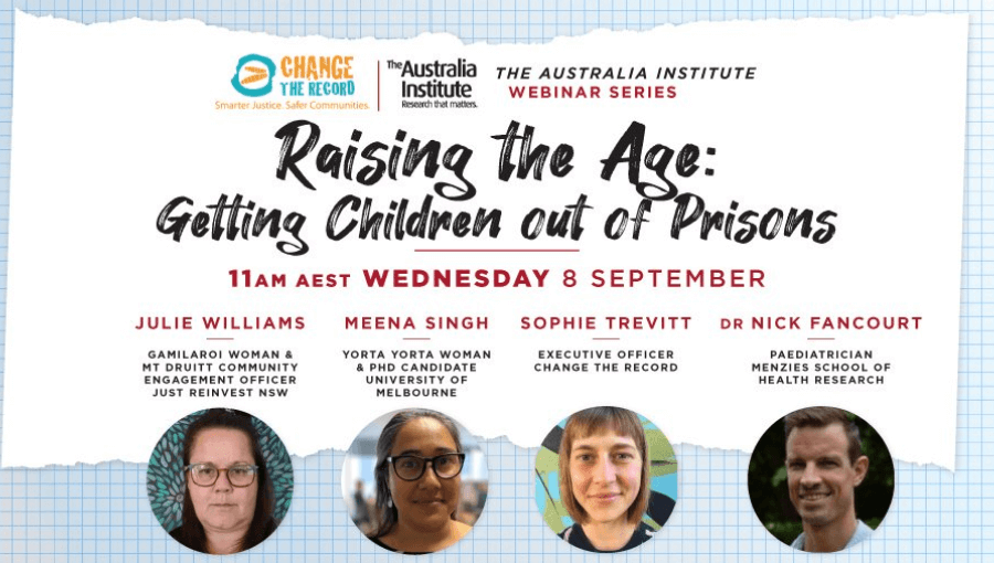 Raise the Age: Getting Children out of prisons